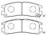 刹车片 Brake Pad Set:MB 857 336