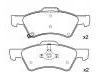 刹车片 Brake Pad Set:05019803AA
